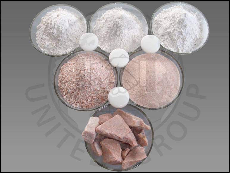 manufacturer exporter of industrial minerals united group
